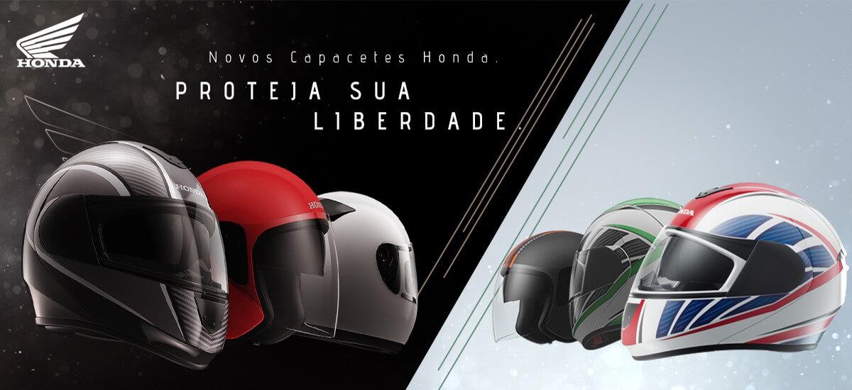 Honda lança linha de capacetes exclusivos inspirados na cultura japonesa